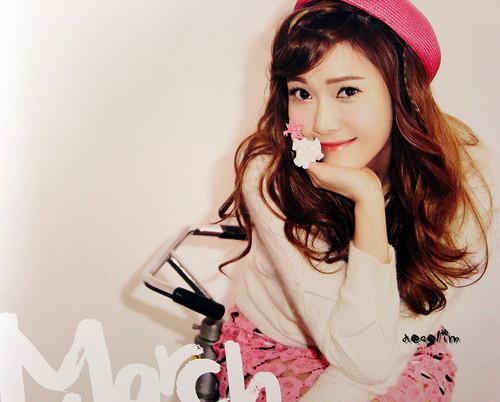 Jung Sisters wallpaper entitled  Jessica @ Girls' Generation 2012 Calendar Scans HD