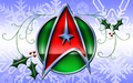 star-trek - «Starfleet logo» [ «United Federation of Planets» ] [ «New Year - Version» ] wallpaper