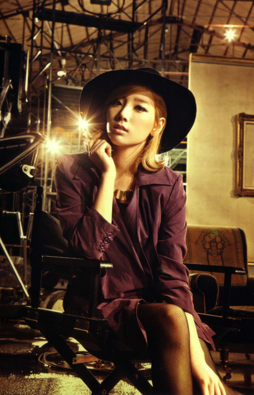 Taeyeon @ The Boys Japanese repackage album SCAN - Kim ... Taeyeon The Boys