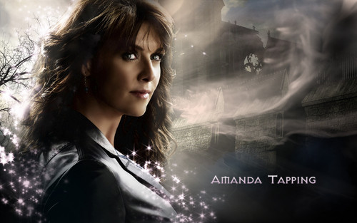 "Stargate wallpaper containing a portrait called «The Sci Fi Queen» Amanda Tapping ""alias"" Samantha Carter"