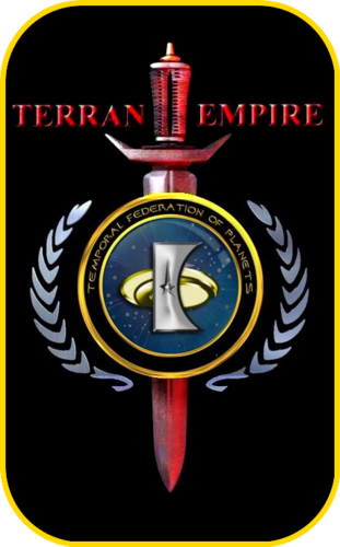 Du hành giữa các vì sao hình nền called «The logo of Temporal Federation Planets» [ «Under the auspices of the Empire Earth TERRA» ]
