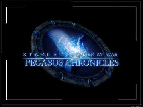Stargate wallpaper titled «Звездные врата Хроники Пегасa» [ «Stargate Pegasus Chronicles» ]