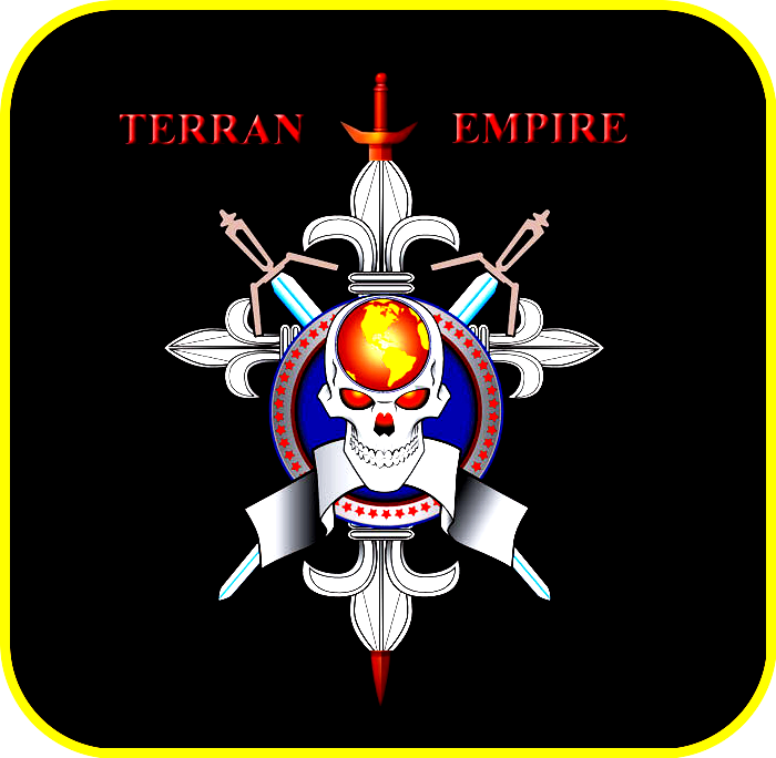 «Герб Империи Земли» [ «Империя Земли ТЕРРА» ].