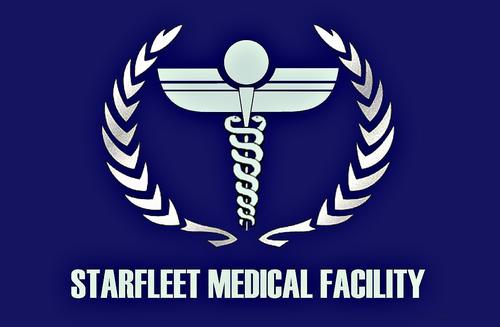 Флаг Медицинского отделения Звёздного Флота»