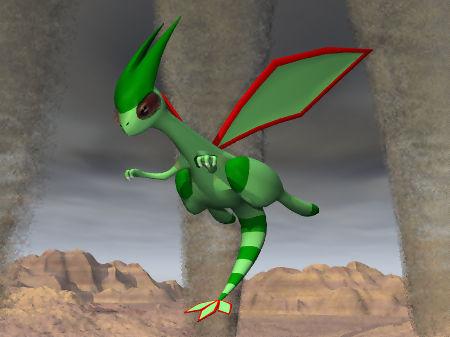 3D pokemon