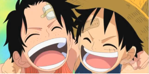 One Piece wallpaper with anime called Ace and Luffy