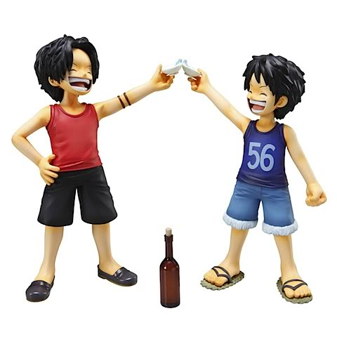 Ace and Luffy - one-piece Photo