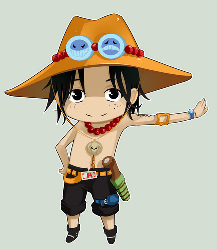 One Piece kertas dinding entitled Ace