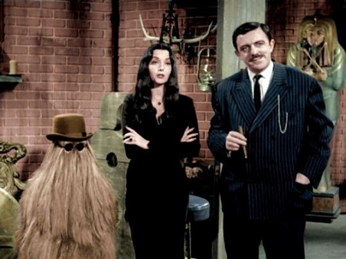 The Addams Family 1964 wallpaper possibly containing a business suit called Addams Family