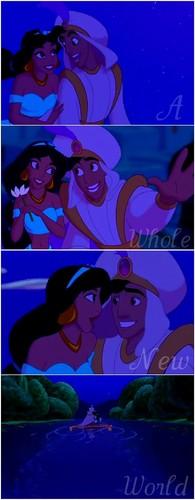 Aladdin & jasmijn ♥