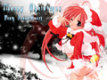 Anime Girl christmas
