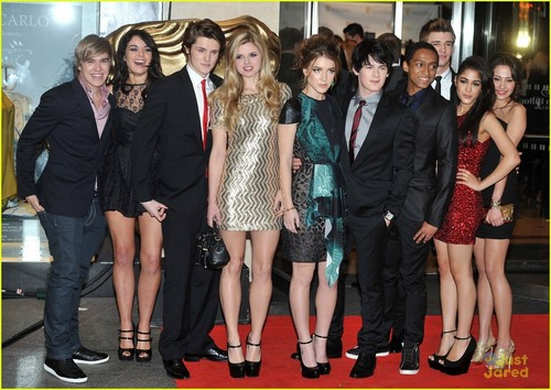 Anubis gang at BAFTA's