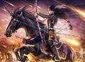 Archer + rider