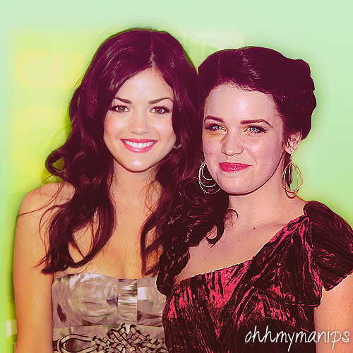 Aria and Lucy Hale - 팬 Art