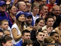 At the Howard Bison vs the Kansas Jayhawks Game at Allen Fieldhouse [December 29, 2011] - olivia-wilde photo