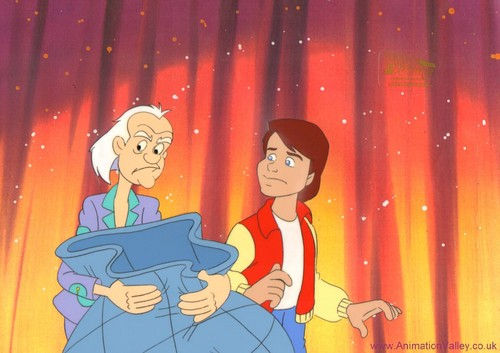 Back to the future back to the future the animated series production