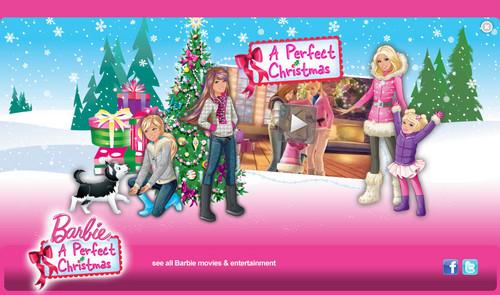 Barbie perfect X-mas wolpeyper