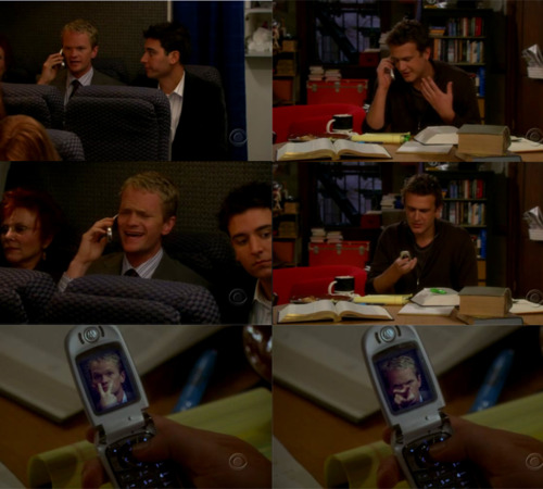 Barney and Marshall in 1x03