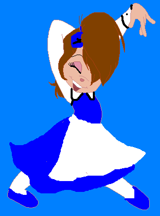 Belle (beauty and the beast) as a Chipette