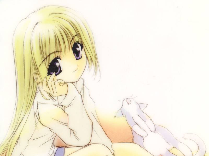 Recommended Anime S And Manga S Images Blonde Anime Girl