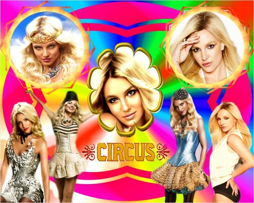 Britney Spears - Circus Poster