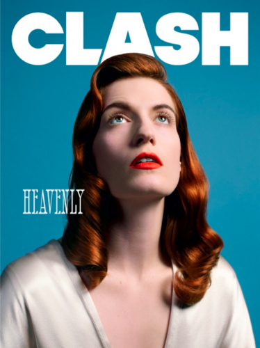 COVER & EDITORIAL Clash Magazine #68 Feat. Florence Welch da Matthew Stone