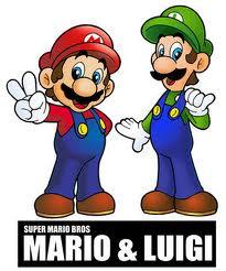 CUTE MARIO AND LUIGI