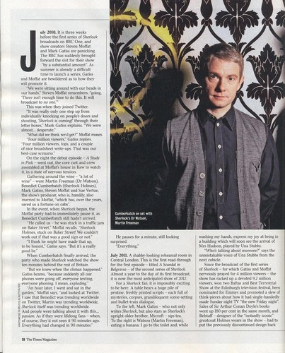 Caitlin Moran's 文章 on Sherlock from The Times
