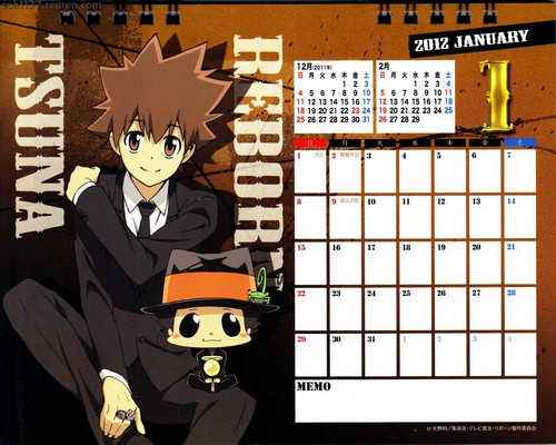 Calendar 2012 - katekyo-hitman-reborn Photo