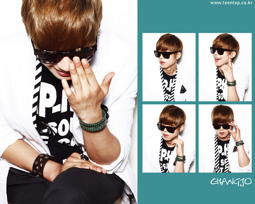 Teen Top wallpaper possibly with a portrait entitled ChangJo!>.<