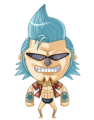 Chibi Franky - one-piece fan art