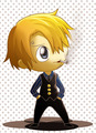 Chibi Sanji - one-piece fan art
