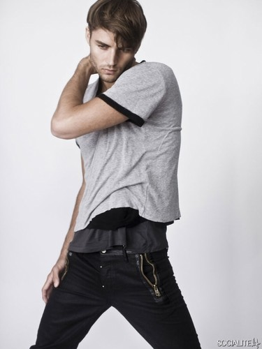 Christian Jorgensen Modeling Photos