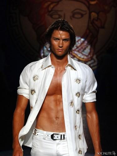 Male Models wallpaper titled Christian Jorgensen Modeling Photos