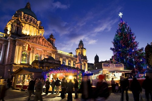Ireland wallpaper probably with a kremlin called Christmas Market