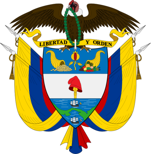 Colombia mantel of Arms