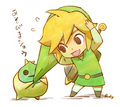 Cute Link - the-legend-of-zelda fan art
