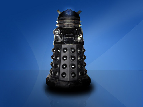 doctor who wallpaper titled Dalek Dual Screen