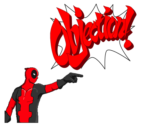 Deadpool objects