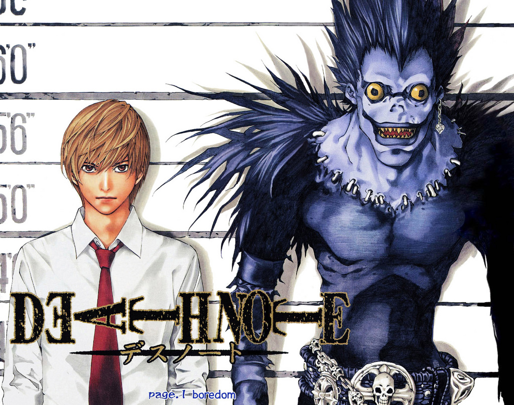 Recommended anime 39 s and manga 39 s images death note hd - Manga death note ...