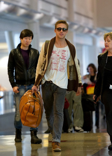 December 30: Walking at LAX Airport to fly to New York
