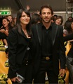Del Piero with his wife Sonia