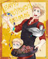 Denmark and Sweden - hetalia-nordic-countries fan art