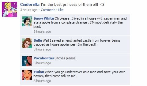 Disney Princess Facebook
