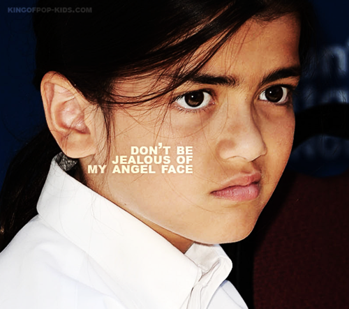 Blanket Jackson wallpaper possibly containing a portrait called Don't be jealous