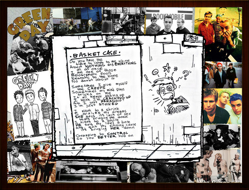 Dookie Wallpaper-Basket Case