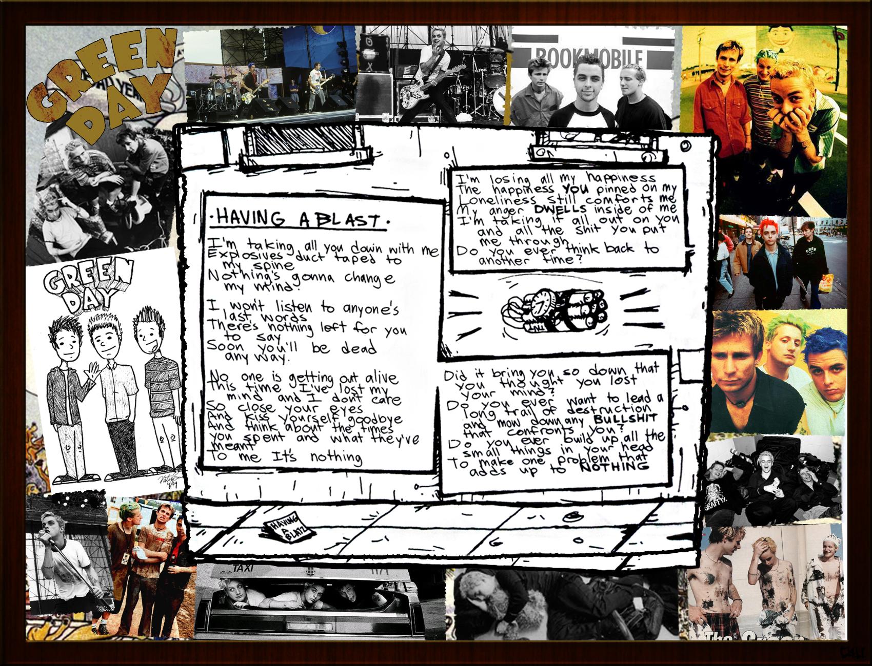 Dookie Wallpaper- Having A Blast