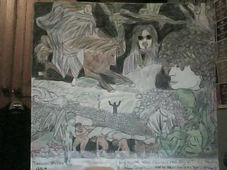 Drawing of My People Were Fair... LP cover