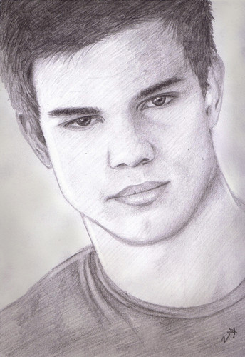 Drawing of Taylor Lautner