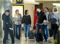 Emily Blunt & John Krasinski Fly with Jimmy Kimmel